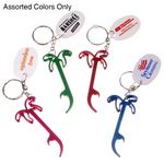 Custom Palm Tree Opener Keychain