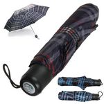 Custom Plaid Umbrella