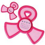Custom Pink Ribbon Spinner