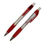 Custom Silver Grip Pen