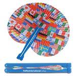 Custom Flag Folding Fan