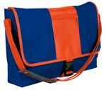 Custom Dyed Duck Canvas Stripe Messenger Bag - 12