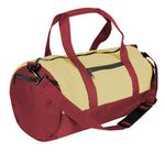 Custom Dyed Duck Canvas Reinforced Roll Bag - 26