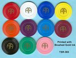 Custom Alcoholics Anonymous Tokens / Chips - Pad Printed