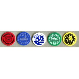 Solid Color Poker Chip