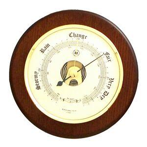 Barometer on Cherry Wood