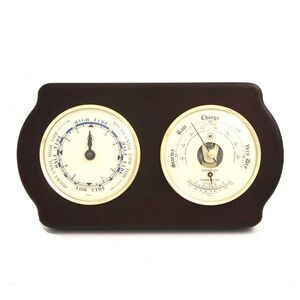 Tide Clock w/ Weather Station - Ash