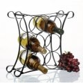 Custom Metalla Wave Wine Rack