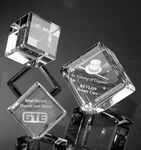 Custom Crystal Cube (Medium)