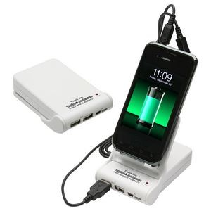 Easel Dual Power Bank Porta-Charger