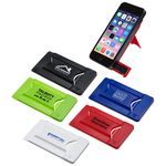 Custom Smart Mobile Wallet w/Phone Stand & Screen Cleaner