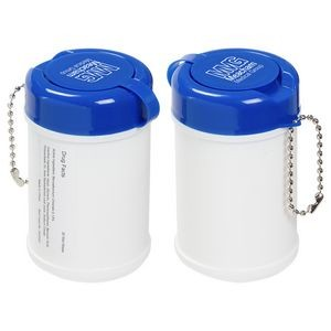 Travel Well Sanitizer Wipes Key Chain