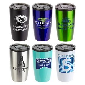 Optima 14 oz Stainless Steel/Polypropylene Tumbler