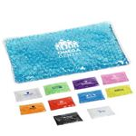 Custom Aqua Pearl Rectangle Hot/Cold Pack