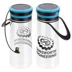 Custom Light-Up Tritan Bottle & Solar Lantern