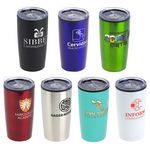 Custom 20 Oz. Olympus Double Wall Stainless Steel/PP Tumbler