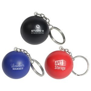 Stress Ball Key Chain