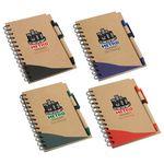 Custom Recycle Write Notebook & Pen