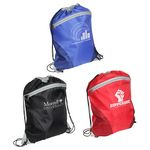 Custom Cyclone Mesh Curve Drawstring Backpack