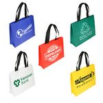 Custom Raindance Large Size Water Resistant Coated Tote Bag