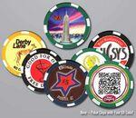 Custom 10 Gram Ceramic Poker/ Casino Chips