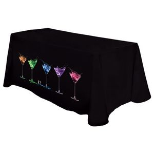 Digital 6 Throw Table Cover - Standard Poly Fabric