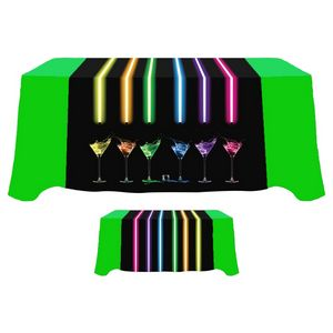 Digital 60 x 90 Table Runner - Standard Poly Fabric