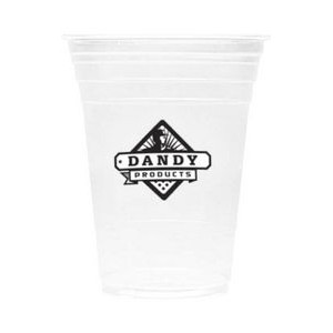 16 oz PET Clear Soft-Flex Plastic Disposable Tumbler