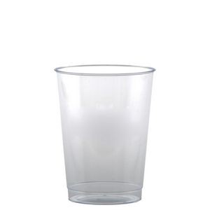10 Oz. Clear Rigid Disposable Plastic Tumbler