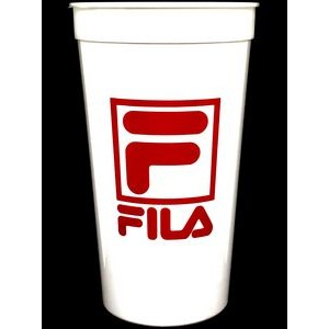 32 Oz. White Souvenir Stadium Cup