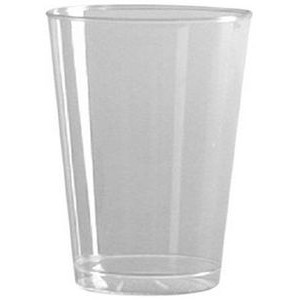 5.25 Oz. Clear Rigid Disposable Plastic Tumbler