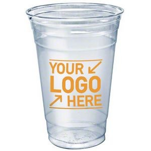 20 Oz. Clear Plastic Soft-Flex Disposable Tumbler