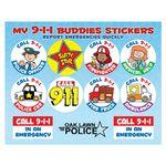 Custom My 9-1-1 Buddies Stickers (Personalized)
