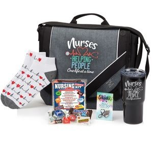 "Nurses: Helping People One Life At A Time ""Gift-A-Day"" Value Pack"
