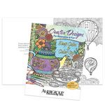 Custom Creative Designs For Relaxation & Fun Keep Calm & Color On Adult Coloring Book