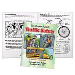 Custom Let's Learn About Traffic Safety Educational Activities Book (Personalized)