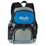 Custom Oakdale Backpack Cooler (Nurses Caring Hearts Healing Hands)
