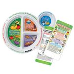 Custom Diabetes Portion Meal Plate With Glancer (English)