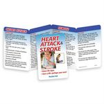Custom Heart Attack & Stroke Know the Signs-Save a Life-Perhaps Your Own! Pocket Pal Brochure