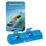 Custom Medication Recorder Pocket Pal & Pill Box (Spanish Version)