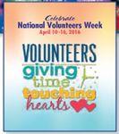 Custom Volunteer Week Poster