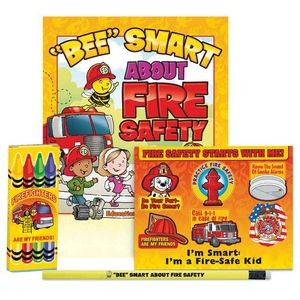 """Bee"" Smart About Fire Safety Grades Pre-K Thru Kindergarten Fire Safety Educational Activity Pack"