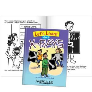 Let's Learn About X-Rays Educational Activities Book - Personalization Available