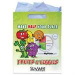 Custom Full-Color Fruits & Veggies Goody Bags (Personalized)