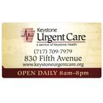 Custom Custom Business Card Magnet With Rounded Corners