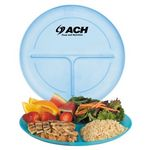 Custom Adult Polypropylene Portion Plates (Personalized)