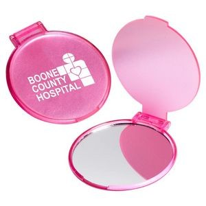 Pink Cosmetic Mirror - Personalization Available