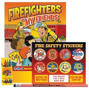 Firefighters Are My Friends Grades 1-2 Fire Safety Educational Activity Pack
