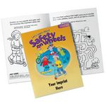 Custom Let's Learn About Safety on Wheels Educational Activities Book