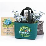 Custom Mini Tote Bag Planter (Volunteers Plant the Seeds of Kindness)